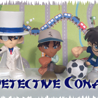 Gashapons, Trading Figures, And Petits Need Love Too! Part 1! Conan Edogawa and Heiji Hattori Chibis by Bandai