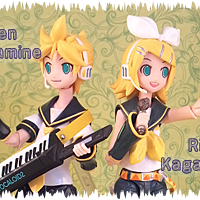 Rin and Len Kagamine Figma Good Smile Company