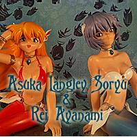 Rei And Asuka Mermaids Sega
