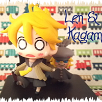 Gashapons, Trading Figures, and Petits Need Love Too: Part 10 Len and Rin Kagamine Vignette