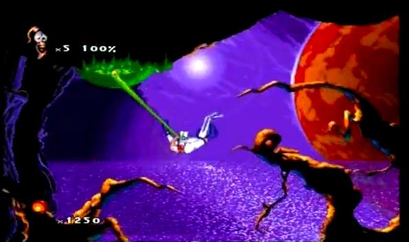 Earthworm Jim 2 for the Sega Saturn