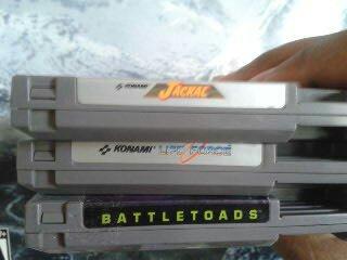 NES labels