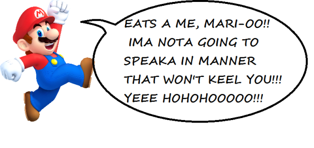 Talking Mario