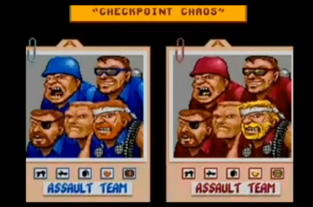 General Chaos select screen
