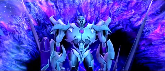 Megatron observes his progress