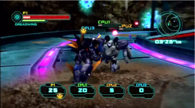Multiplayer Energon Battle