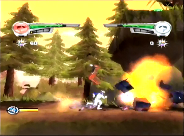 Super Legends Ninja Storm stage