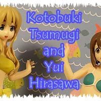 Hirasawa Yui and Kotobuki Tsumugi  Sega