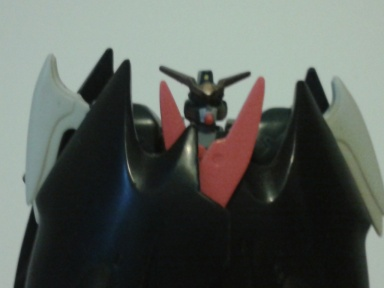 Deathscythe folded wings