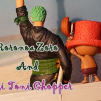 Zoro and Chopper Dramatic Showcase Banpresto