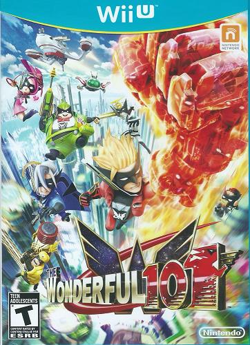Wonderful 101 Cover Art