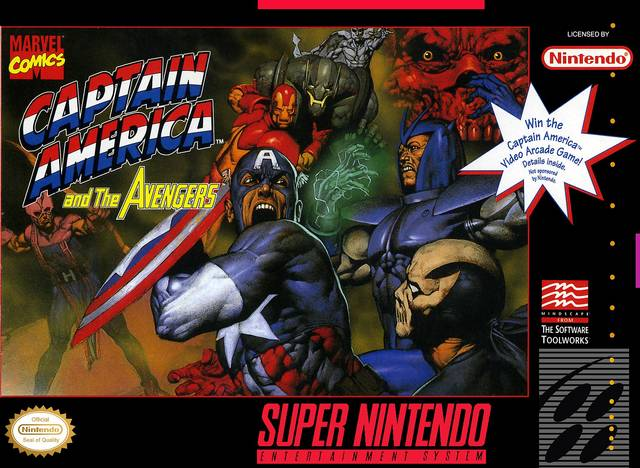 Captain America And The Avengers Review Snes Somewhere In The Midst Of Nowhere