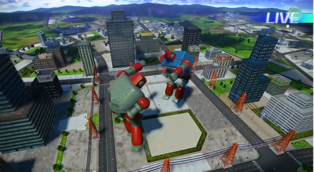 Giant Robot Miyamoto