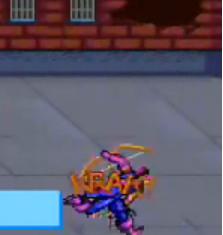 Hawkeyes goofy punch