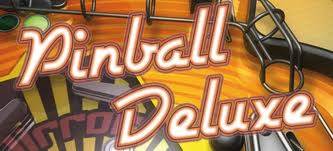 Pinball Deluxe Title screen