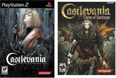 PS2 Castlevania games