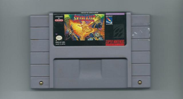 Skyblazer Cartridge