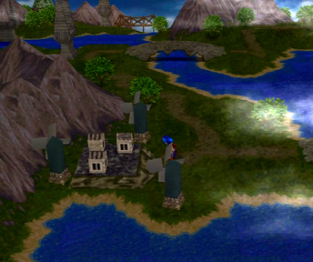 Legend of Legaia on the PlayStation