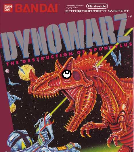 DynoWarz title card