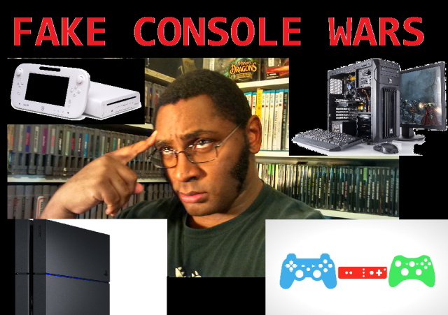 Fake Console Wars Title Card