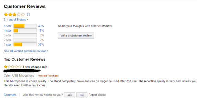 A good bad review
