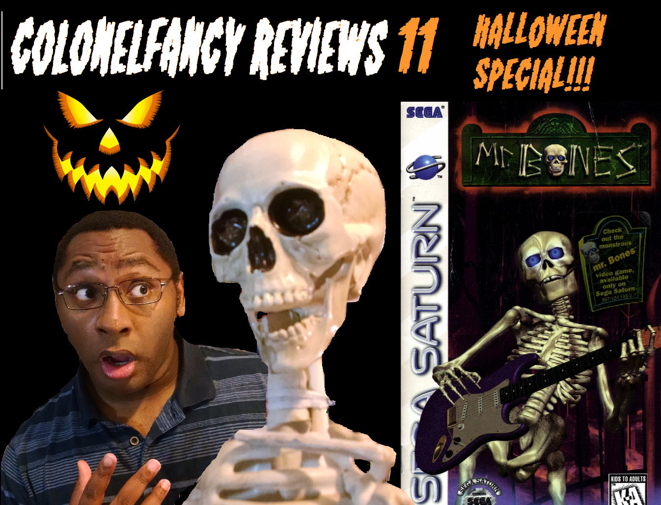 CF Reviews 11 Halloween Special – Mr. Bones (Sega Saturn)