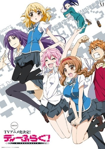 CF Anime Reviews – D-Frag!
