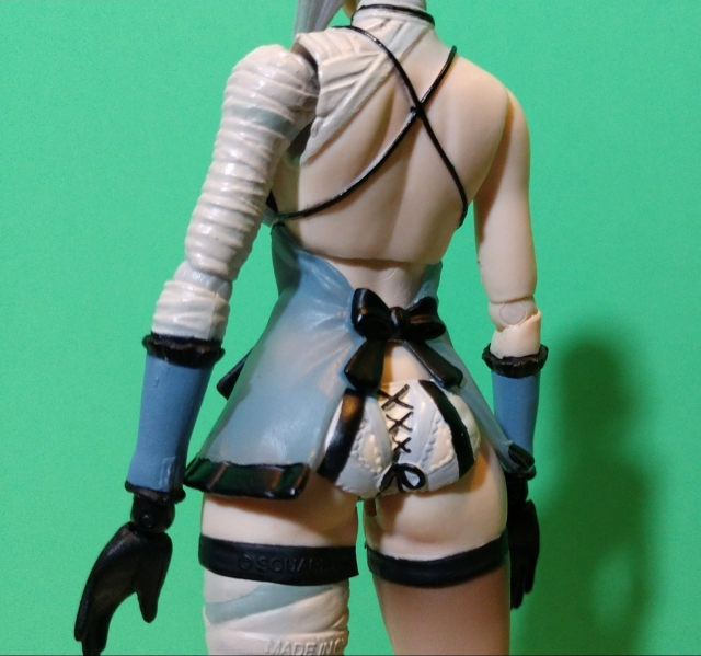Kaine rear view
