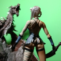 NieR - Kaine Bring Arts Action Figure Review