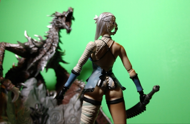 Kaine vs Skyrim Dragon
