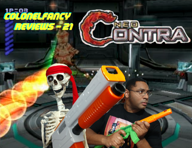 NEO Contra Title Card
